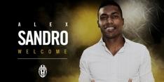 Alex Sandro tekent voor vijf jaar en kost Juve 26 miljoen