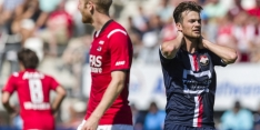 AZ komt in eigen huis niet voorbij Willem II