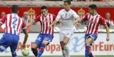Real Madrid loopt met coach Benitez direct averij op