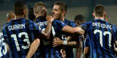 Inter dankt Jovetic, Lazio hard onderuit bij Chievo