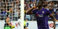 Babacar matchwinner Fiorentina, ook AS Roma wint