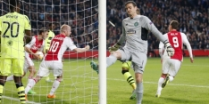 Bijna anderhalf miljoen mensen zien Ajax gelijkspelen