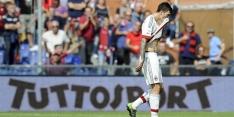 AC Milan kan Italiaanse subtop nog niet bestormen
