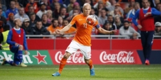 Robben niet op tijd fit voor CL-topper tegen Arsenal