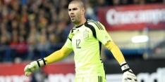 Keeper Víctor Valdés alweer weg bij Standard Luik