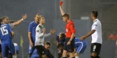De Leeuw voor twee Europese wedstrijden geschorst
