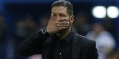 Atlético speelt gelijk in Madrileens onderonsje