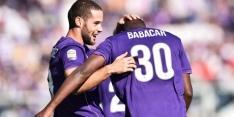 Fiorentina overklast Frosinone en pakt koppositie