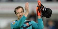 "Cech pakt fraai record: ""Keek steeds naar de klok"""