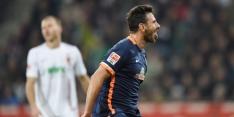 Benutte strafschop Verhaegh niet genoeg voor Augsburg