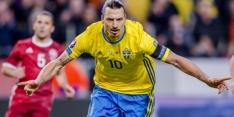 Zweden speelt zonder Zlatan gelijk tegen Slovenië