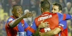 Levante na klinkende overwinning van laatste plaats