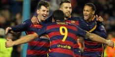Groep E: Barcelona mét Messi legt ook Roma op pijnbank