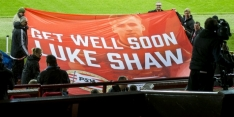 United-back Shaw zet belangrijke stap in revalidatie