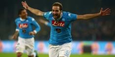 Napoli houdt Higuaín en Hamsik aan de kant in EL
