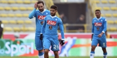 Ongeslagen reeks Napoli na achttien duels ten einde