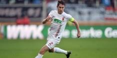 Scorende Verhaegh ronde verder met FC Augsburg