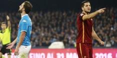 Napoli laat dure punten liggen in topper tegen AS Roma