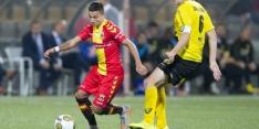Go Ahead stuurt tegenvallende Mathieu terug naar Tilburg