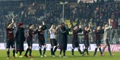 Milan na achterstand doelpuntrijk langs Frosinone