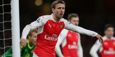 Arsenal en Nacho Monreal zien toekomst in elkaar