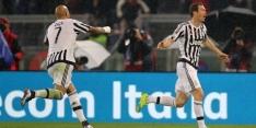 Juventus juicht in Rome en treft Inter in halve finale