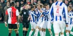 Heerenveen drukt dolend Feyenoord dieper in narigheid