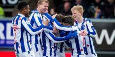 Zeneli schiet Heerenveen naar zege in Friese derby