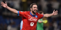 Napoli en Juventus pas laat langs laagvliegers