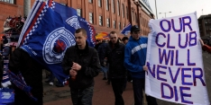 Rangers verliest unieke bekerfinale van Hibernian