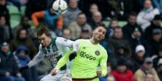 Ajax slaat in tweede helft toe en wint in Euroborg