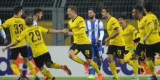 Dortmund vloert Porto, Fiorentina en Spurs gelijk