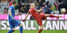 Bayern wint moeizaam, glansrol Uth bij Hoffenheim