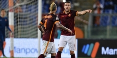 Invaller Strootman wint met Roma, Fiorentina morst