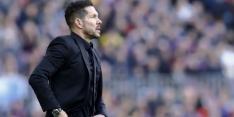 Atlético Madrid op ongewone wijze onderuit in slotfase