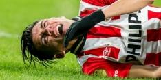 PSV waarschijnlijk zonder Moreno tegen Feyenoord