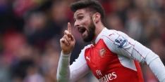 """Giroud: """"Vernomen dat Vardy graag naar Arsenal wil"""""""