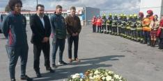 """Belgen eren slachtoffers: """"Zelfs zoiets krijgt ons niet klein"""""""
