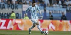 Argentinië wint weer met Messi, Uruguay gaat aan kop