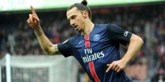 Treffer Ibrahimovic volstaat voor PSG in halve finale beker