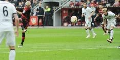 Leverkusen stijgt naar plaats drie, goal Dost niets waard