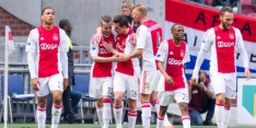 Ajax na klinkende winst nog één horde verwijderd van titel