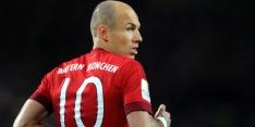 Robben weer op de bank bij Bayern na 'zware' periode