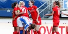 Vrouwen Ajax en Twente halen uit in titelrace