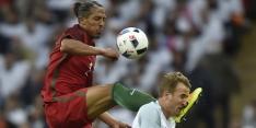Bruno Alves krijgt rood voor bizarre charge op Kane