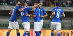 Italianen uitgezwaaid met overwinning op Finland