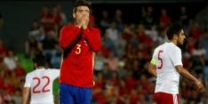 Georgië verpest uitzwaaiwedstrijd van Spanje