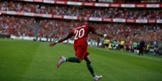 Portugal imponeert in oefenwedstrijd tegen Estland