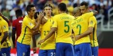 Nieuwe tik voor Messi-loos Argentinië, Brazilië aan kop