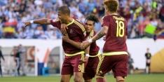Venezuela en Mexico naar kwartfinale, Suarez boos